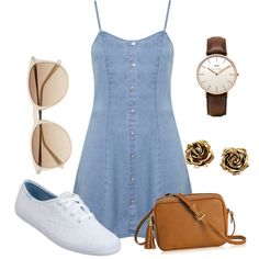 Untitled #25 by yasmeenf on Polyvore featuring polyvore, fashion, style, Miss Selfridge, Keds, GiGi New York, Daniel Wellington, Tiffany & Co. and Witchery