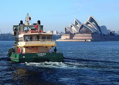 Sydney Ferry - nice daytrips with the kids from Manly across to the City - boat