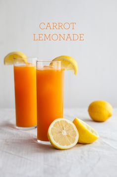 Carrot Lemonade / {Delicious and Healthy treat!}