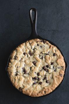 Gooey Skillet Chocolate Chip Cookie