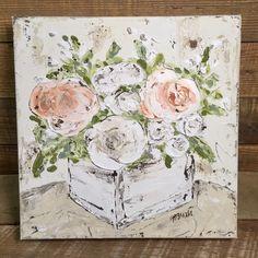 Planter Box Flowers, Floral Décor, Spring Flowers, Floral Art by Haley Bush