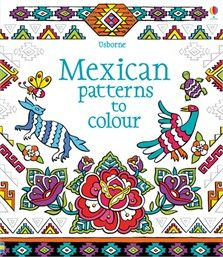Features beautiful black and white line drawings of Mexican patterns, allowing readers to colour them in their own style. With snippets of information on techniques, media and colours, this is a unique introduction to modern and traditional Mexican art. #colouring #colouringbooks #mexicanart