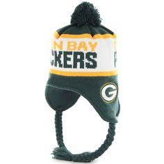 Green Bay Packers Sutherland Tassel Knit Hat 2c218f5aca87