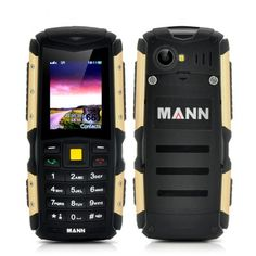 MANN ZUG S Rugged 2 Inch Display Phone - IP67 Waterproof + Dust Proof Rating