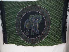 Indian Elephant Mandala green black Sarong wholesale summer clothing $5.25 - http://www.wholesalesarong.com/blog/indian-elephant-mandala-green-black-sarong-wholesale-summer-clothing-5-25/