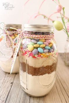 Easter mason jar cookie recipe with free printable tags cookie its time to start getting ready for easter can you believe it easter comes early this year today i am sharing 30 easter craft projects recipes negle Gallery