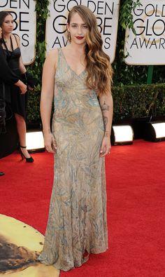 Jemima Kirke Attends 71st Annual Golden Globe Awards