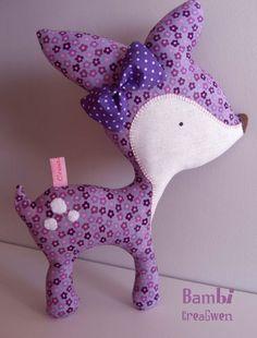 Love this Bambi from http://creagwen.canalblog.com