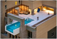 Penthouse Pool at The Joule in Dallas
