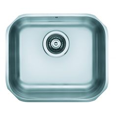 Chiuveta bucatarie inox satinat Alveus Variant 40 Id 5855 1 cuva 40 x 34 cm Pop Up, Single Bowl Kitchen Sink, Sink Taps, Stainless Steel Kitchen, Satin, Collection, Products, Popup, Elastic Satin