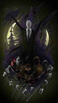 Read Jeff the killer x slenderman from the story crepypastas imágenes yaoi y más \(♡. Jeff The Killer, Creepypasta Wallpaper, Creepypasta Slenderman, Slenderman Proxy, Creepy Pasta Family, Creepy Monster, Creepy Art, Dark Fantasy Art, Animes Wallpapers