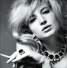Actress Monica Vitti  Photo by Karen Radkai (1963)