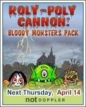 Roly-Poly Cannon: Bloody Monsters Pack - foxyspiele.com