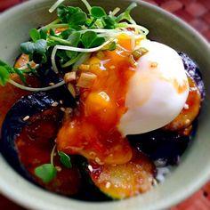 茄子苦手だった姫が「茄子大好き」と食べた位めっちゃ美味しい❗ これはリピしまくりです〜(*´∀`) 素敵美味しいレシピありがとうございます✨ - 231件のもぐもぐ - MMasahiro's Teriyaki bowl of egg&eggplantもっちぃさんの茄子の照り玉どぉ〜んw by Ami
