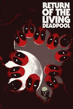 from Marvel Comics: 'Zombies! Deadpool! Zombie Deadpool (Magneto, Deadpool Kills The Marvel Universe) joins Marvel newcomer Nik Virella take you to a world overrun with undead Deadpools – each with a snarky mouth of its own https://plus.google.com/104681282804366943606/posts/Px2uWPNeo5v