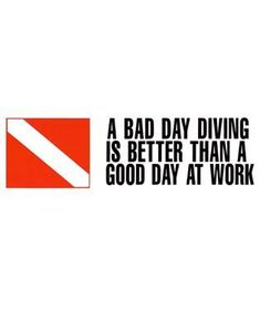A Bad Day of Diving & Snorkeling Sporting Goods - https://xtremepurchase.com/ScubaStore/a-bad-day-of-573017297/ #scubadivingequipment