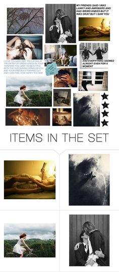 """""""Ghost Boy & Freckle Girl //you don't have to say I love you to say I love you//"""" by roasted-alien ❤ liked on Polyvore featuring art"""