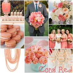 colors of coral for wedding | wedding in italy: Wedding Colors Spring/Summer 2013