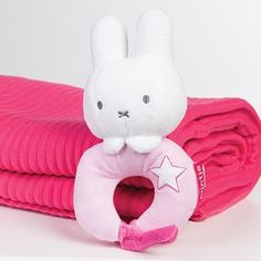 Miffy Pink Rattle – Modo Creations