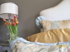 Boutique inspired bedroom designed by Serena Monjeau Walkes, featured on Rate My Space