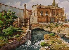 Untitled, by José Herrero, at http://jeroni-acuarelas.blogspot.com