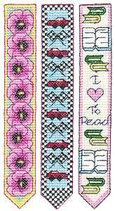 Cross Stitch Bookmarks Part 1 by DesignStash.com