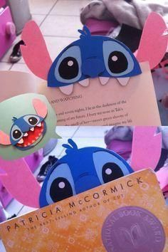 trendy lilo and stitch door decs etsy Diy Bookmarks, Origami Bookmark, Corner Bookmarks, Felt Crafts, Diy And Crafts, Crafts For Kids, Paper Crafts, Lilo Ve Stitch, Craft Projects