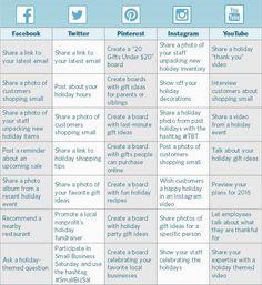 How to Create a Holiday Social Media Calendar #SocialMediaTips #Marketing #ContentIdeas