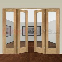 Image of Easi-Frame Oak Door Set, GOSHAP10-COEOP4, 2005mm Height, 2520mm Wide.