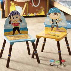 Fantasy Fields Set of 2 Pirate Island Chairs
