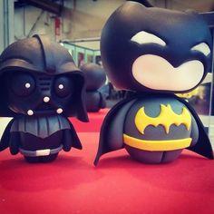 Darth Vader & Batman