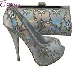 100.00$  Watch here - http://aliwfk.worldwells.pw/go.php?t=1503938864 - wholesale ladies italian design shoes with evening bag for African lady high quality 1308-L31 italy 4.5inch high heel shoes