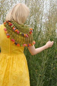 Fun scarves - it's a twist.
