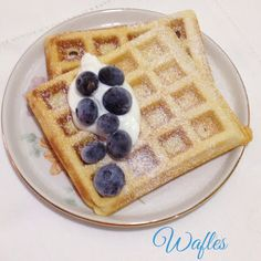 Waffles time!!!