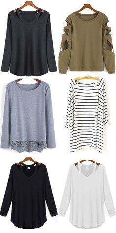 SheIn Fashion T Shirts