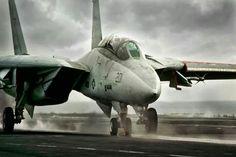 F14 Tomcat - Cat shot.