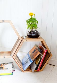 Recycled Timber Homewares from Theory of Willow | Gallop Lifestyle #handmade #timber #storage