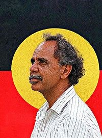 On Koori Radio's BlackChat program, Lola Forester chats with the man who created the Aboriginal flag design, Harold Thomas. Harold talks about the creation of the flag design and how he feels about th Aboriginal Flag, Aboriginal History, Aboriginal People, Terra Australis, Indigenous Art, Colorful Paintings, Flag Design, First Nations, Black History