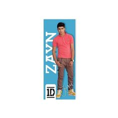 One Direction Zayn Life-size Poster ($18) ❤ liked on Polyvore