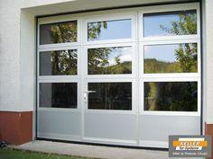 Garagentor mit tür  50 Exterior Door Makeover Ideas with Sidelights   Door makeover