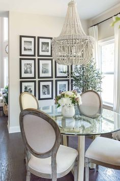 Breakfast Nook In Edgecomb Gray By Sherwin Williams With Black Frame  Gallery Wall #gallerywall #