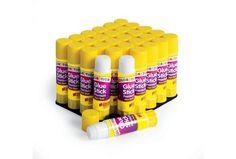 Discount School Supply - Colorations® Washable Premium Glue Sticks - Set of 30, White
