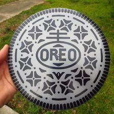 Disc Golf disc custom dyed to #oreo. Latitude 64 Gold Line CLAYMORE 176gm Mid Range created by Triple 777 Customs. The discs go to auctions starting at $20!