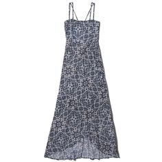 Abercrombie & Fitch Patterned Wrap Skirt Maxi Dress (170 ILS) ❤ liked on Polyvore featuring dresses, black and check pattern, patterned maxi dress, surplice dress, wrap maxi skirt, maxi dress and black dress