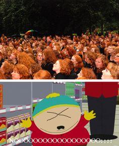 Eric Cartman, Redhead Day