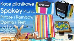 Koce piknikowe Spokey Picnic Pirate i Rainbow - Opinia i Test
