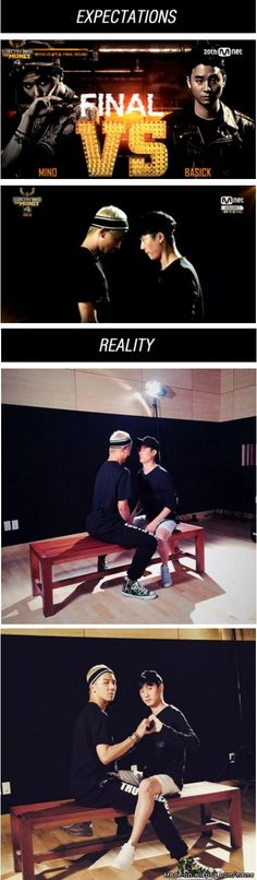 Korean Rap Battles Be Like | allkpop Meme Center So Cute~