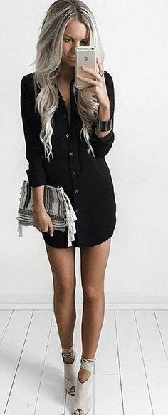 #summer #trending #style   Little Black Dress