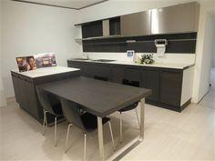 cucina isola laccar bianca tavolo in legno massello piede in ...
