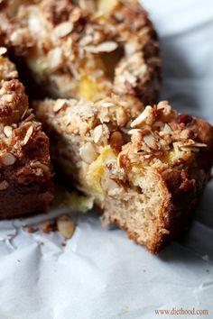 Orange and Almond Coffee Cake